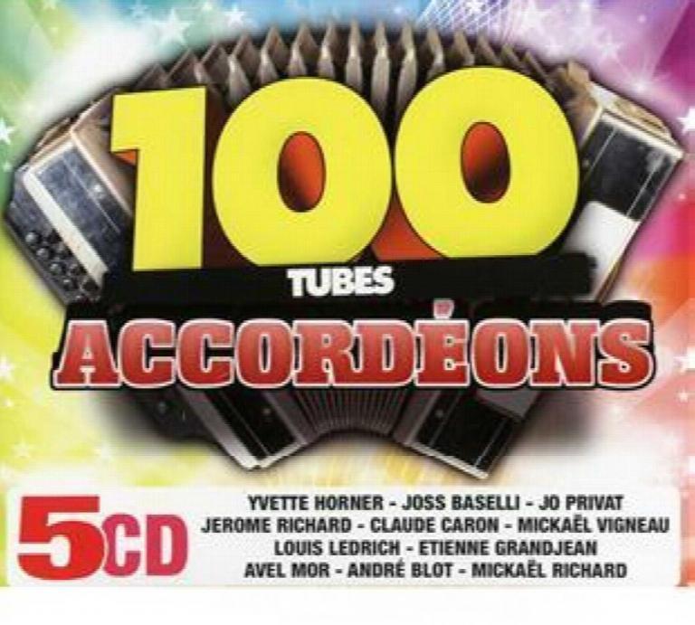 Les 100 Tubes Accordéon 5 CD