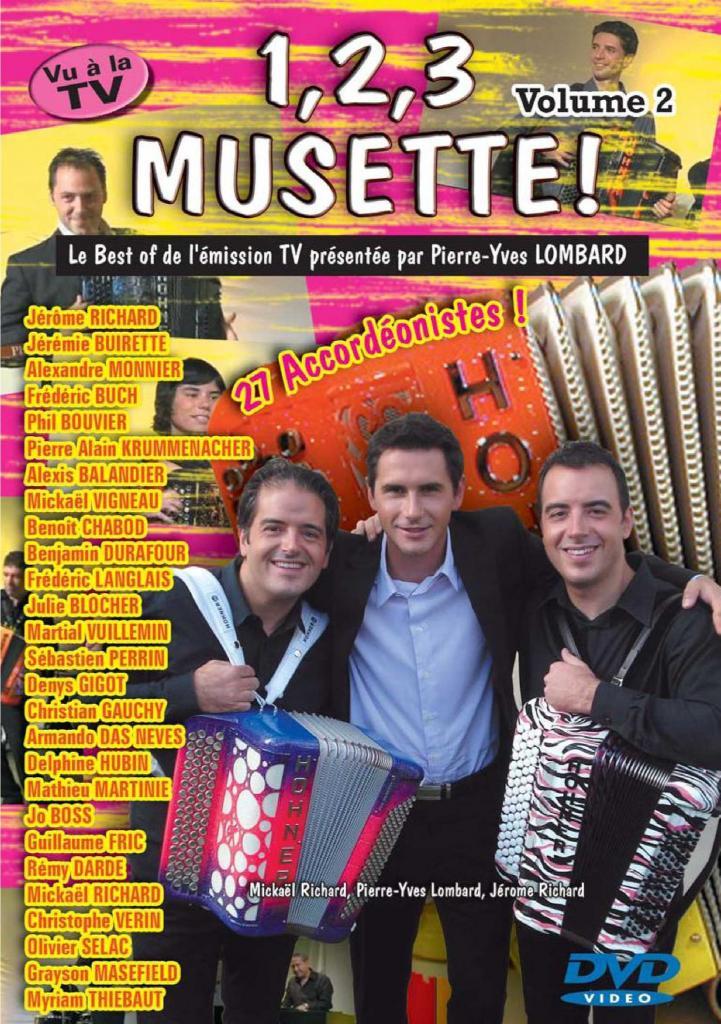 DVD 123 musette volume 2