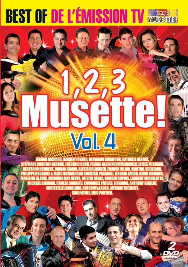 DVD 123 musette volume 4