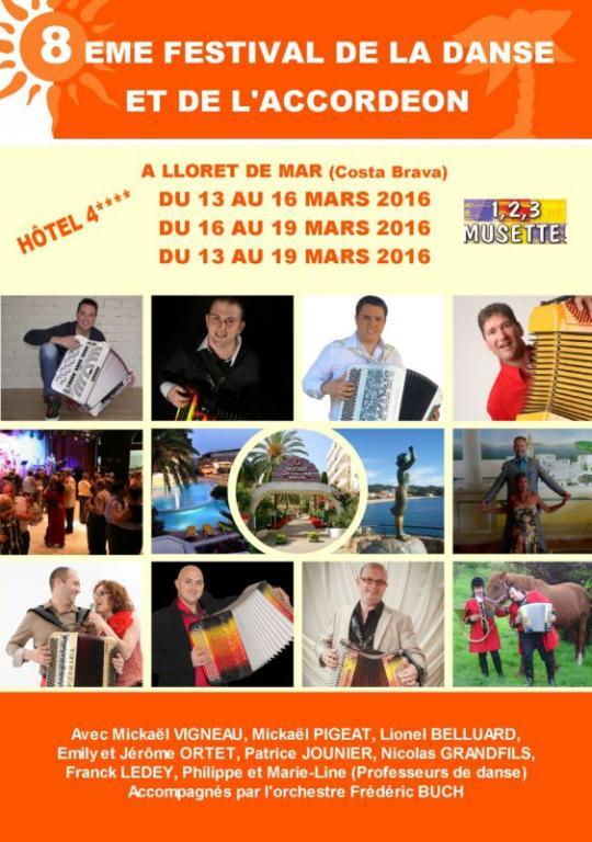 Archive : Festival de la Danse et de l'Accordéon 2016 (mars 2016)