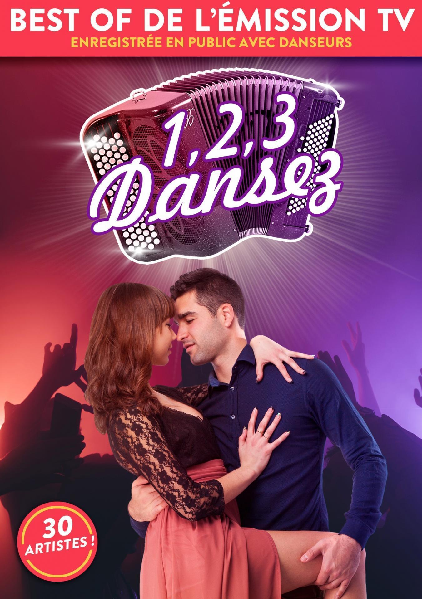 DVD 1,2,3 Dansez