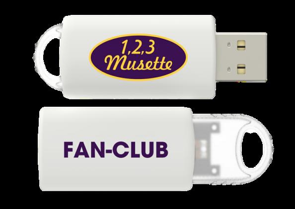 Cle usb fan club