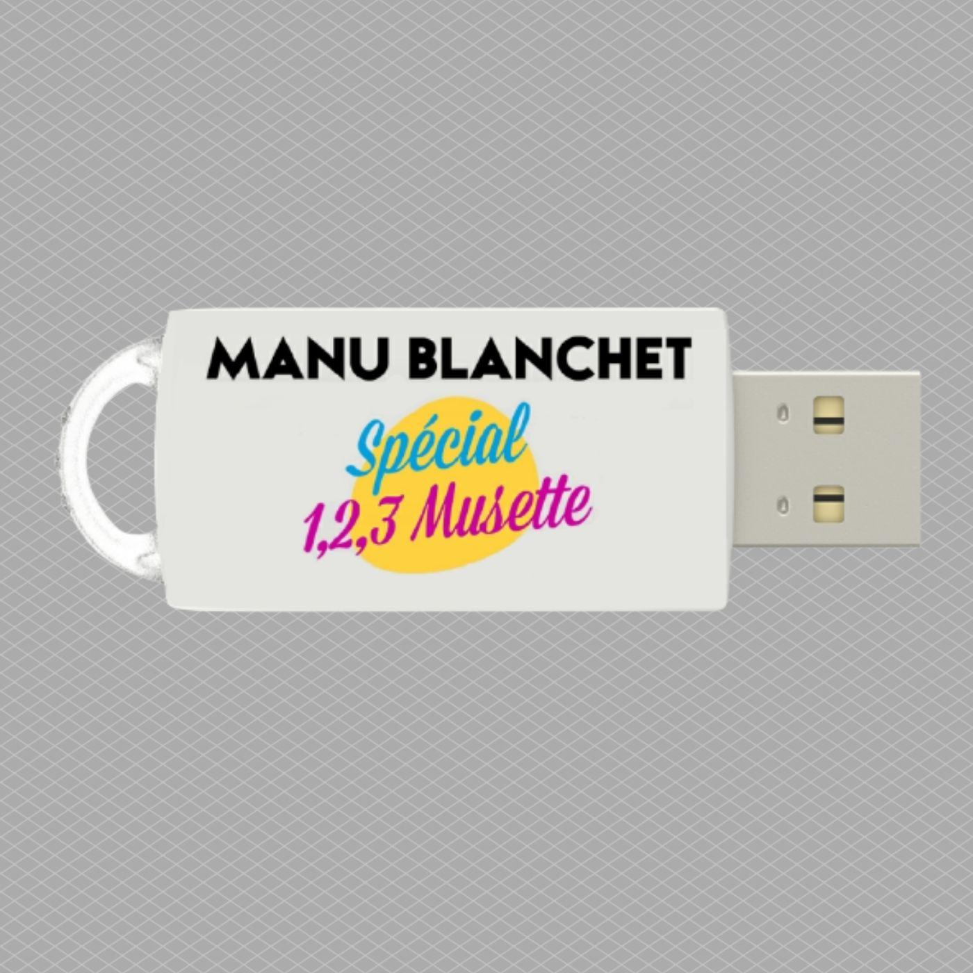 Cle usb manu blanchet special 123 musette