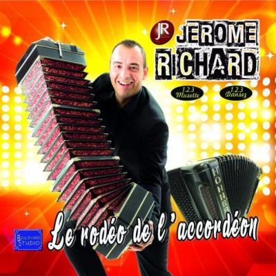 CD Jérôme RICHARD - Le rodéo de l'accordéon