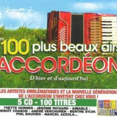 Les 100 plus beaux airs d'accordéon