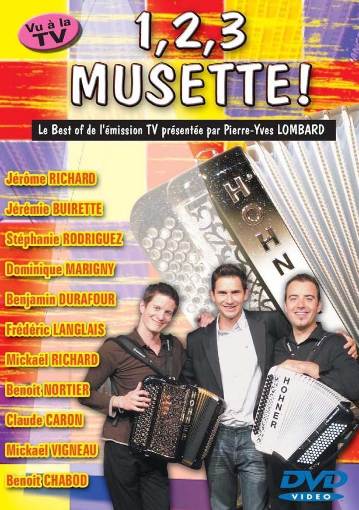 DVD 123 musette volume 1