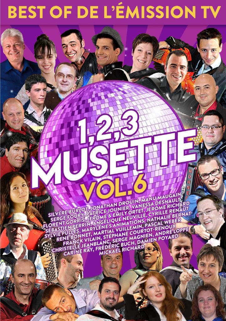 DVD 123 musette volume 6