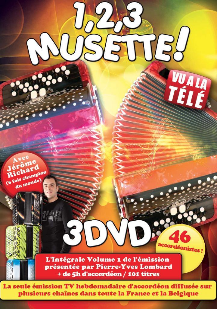 DVD 123 musette best of 3 DVD