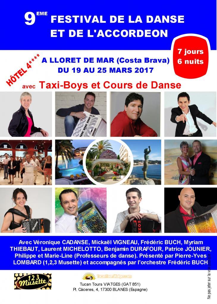 Archive : Festival de la Danse et de l'Accordéon (Lloret de mar - mars 2017)