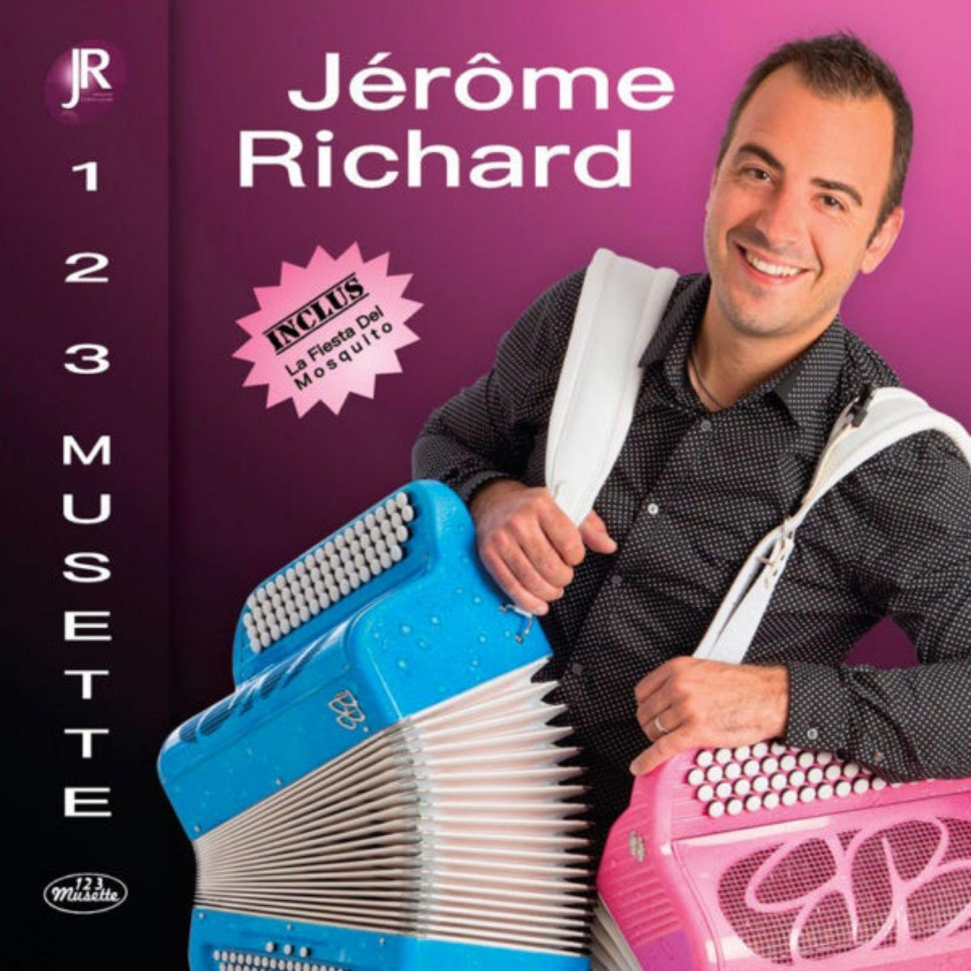 Cd jerome richard 123 musette