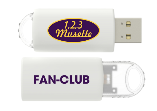 Cle usb fan club