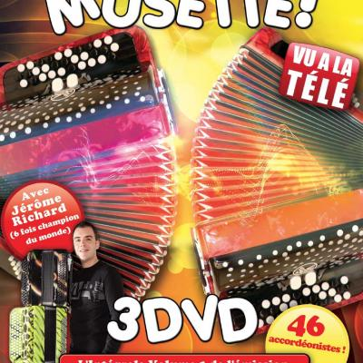 Pochette dvd 123 musette best of